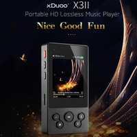 XDuoo X3II AK4490 bluetooth 4,0 portátil HD sin pérdida reproductor de música DSD128 DAC USB y OTG Max 256G OPA1652