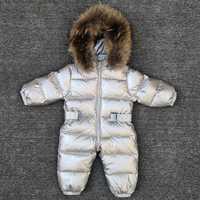 -30 degrés bébé fille combinaisons russie hiver bébé vêtements vêtements de neige doudoune survêtements de neige pour enfants manteaux garçons filles vêtements