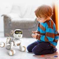 Control remoto Robot electrónicos mascotas perro de juguete interactivo perro Robot inteligente juguetes para los niños