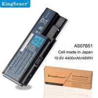KingSener 6 celdas 4400 mAh/48WH AS07B51 batería del ordenador portátil para Acer 6930G 8530G 8920G 8940G 5940G 5942G 7530 de 7540G AS07B41 AS07B42