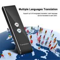 T8 Portable Mini multi-langue Smart traducteur 40 langues APP traducteur Bluetooth sans fil bidirectionnel temps réel voix instantanée