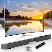 Sonido envolvente estéreo XGODY SR100 Bluetooth Barra de sonido para TV altavoz inalámbrico Aux-En Coaxial óptico Subwoofer de cine en casa