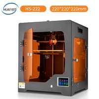 HUAFAST 3D impresora nueva Fdm actualización tecnológica máquina de impresión en Color de Reprap Compatible Marlin firmware rampas de alta resolución