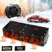 800 W/500 W Universal portátil de coche Auto Van calefacción calentador de aire compacto Defroster Demister 12 V Coche aparatos eléctricos