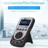 2 en 1 MT8206 MUSTOOL actualizado inteligente Digital osciloscopio multímetro analógico Bar gráfico 200 k de alta-velocidad un /D de muestreo