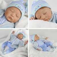 55 cm suave de silicona renacer muñecas bebé realista muñeca de 22 pulgadas completa de Boneca BeBe muñeca chico regalo