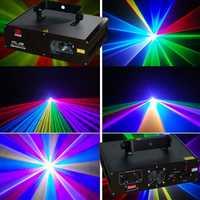 600 MW color RGB DMX láser Luz de la etapa de iluminación de la fiesta