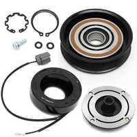 Nuevo Kit de reparación del embrague del compresor del aire acondicionado del coche para la polea de ACURA MDX TL + bobina + rodamiento + placa alta calidad