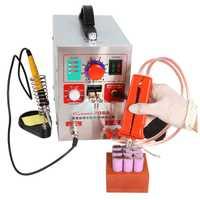 Soldadora de enchufe de la UE de 220 V 50Hz 709A 1.9KW lugar soldadores/2/4/6/8/punto máquina de soldadura para paquete de batería 18650 placa de circuito de soldadura