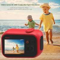 Enfants enfants jouet caméras HD 1080 P Portable DSLR numérique caméra vidéo 2 pouces écran d'affichage pour voyage en plein air cadeau d'anniversaire