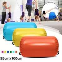 85x100 cm Airtrack gymnastique gonflable Gym Air tapis plancher maison gymnastique exercice inversé Backflip colonne ronde culbuteur tapis