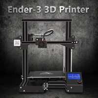 Creality Ender-3 ranura en V I3 3D Kit de impresora MK10 extrusora 1,75mm 0,4mm de 220x220 x 250mm tamaño 3D impresora