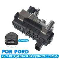 TURBO actuador eléctrico G-74/BK3Q6K682CB de Metal + plástico para FORD RANGER tránsito MK8 2,2 TDCI Auto Piezas de Repuesto 5 pines
