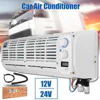 Alta calidad 12 V/24 V aire acondicionado multifunción pared ventilador de refrigeración pantalla Digital para coche caravana camión portátil