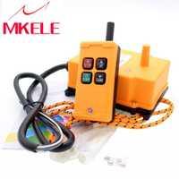 HS-4 transmisor inalámbrico nuevas llegadas grúa remoto Industrial ControlPush interruptor de botón de alta calidad de China