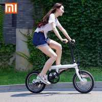 Original Xiaomi QiCYCLE-EF1 APP Control plegable bicicleta eléctrica envío gratis exclusivo para JUAN ANTONIO QiCYCLE grupo bicicleta