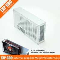 V8.0 EXP GDC externo independiente tarjeta de Video Protector de Metal caja de bestia portátil