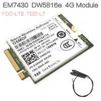 EM7430 DW5816e GOBI6000 Tarjeta 4G LTE DW5816 para Dell latitud 7280. 7285, 7290, 7389, 7390, 7480, 7490 E7470 Cat6 300 M 4G módulo