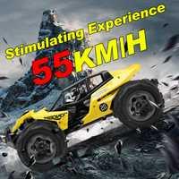 RC coche 55 KM/H 4WD de alta velocidad coche de carreras de Control remoto coche eléctrico vehículo camión 1:12 deriva regalos para niños