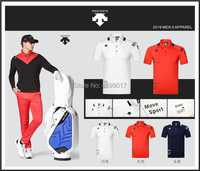 Camiseta de Golf de manga corta para hombre, ropa de Golf de 3 colores, S-XXL en choice, camisa de Golf de ocio, envío gratis