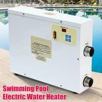 9000 W calentador de agua de temperatura constante 9KW 220 V de piscina y SPA baño calefacción bañera calentador de agua Universal