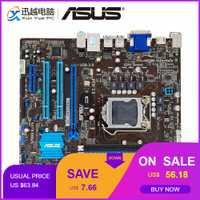 Asus P8B75-M/CSM placa base de escritorio P8B75-M B75 Socket LGA 1155 i3 i5 i7 DDR3 16G SATA3 USB3.0 VGA DVI HDMI uATX
