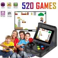 Mini Street Fighter incorporada de 520 clásico doble juego de 32-bit reproductor de juegos de mano AVG RPG de la ley- en Dispositivo de juego