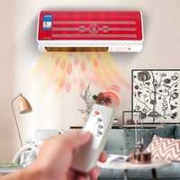 220 V montado en la pared de Control remoto ventilador del calentador de baño caliente de aire acondicionado aire calefacción de ahorro de energía y calefacción calefacción
