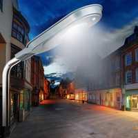 40 W 84LED lámpara de pared Solar de calle PIR Sensor de movimiento + Control de luz impermeable jardín al aire libre lámpara de camino Solar luz accesorio