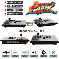 Consolas de juegos Pandora Box 6 s 1388 en 1 videojuegos Retro doble palo Split consola Arcade