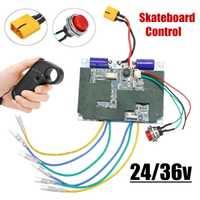 24 V/36 V monopatín eléctrico controlador de Longboard remoto motores duales CES sustituir partes Scooters Tabla de Skate Accesorios