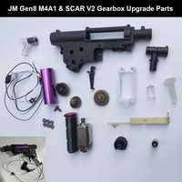 Accesorios de pistola de bola de Gel de caja de cambios de nueva actualización para Jinming 8 9