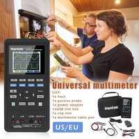 LCD Digital osciloscopio + generador de forma de onda + multímetro portátil USB 2 canales, 40 MHz 70 MHz pantalla LCD medidor de prueba herramientas