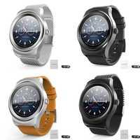 SMA-R1 Bluetooth Call reloj inteligente círculo completo pantalla táctil reloj inteligente podómetro deportivo con Selfie antipérdida para Android IOS