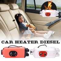 5KW 12 V/24 V de cuatro agujero calentador de aire Diesel actualización LCD termostato para camión de remolque de coche accesorios