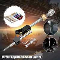 Coche nuevo extensor circuito Pro corta ajustable palanca de cambio de barra para Honda cívico Integra CRX B16 B18 B20 d16 en engranajes