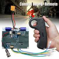 24 V Dual Motor eléctrico patineta Longboard coche ESC Hub motor Mini eléctrico remoto accesorios para Skateboard