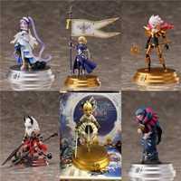 Anime FGO el destino de la Gran Orden de acción figura de juguete modelo Saber Juana de Arco gobernante PVC figura de acción modelo de recogida juguetes de los niños muñecas