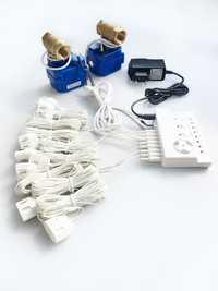 HIDAKA Detector de fugas de agua Sensor de alarma Cable UE Plug 1/2