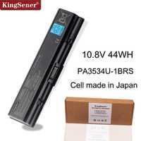 KingSener celular japonés nuevo PA3534U-1BRS batería para Toshiba Satellite A200 A210 A300 A350 L300 L500 L505 PA3533U-1BRS PA3534U