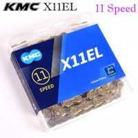 KMC cadena 6 7 8 9 10 11 velocidad X11EL X10 X11 con titanium de plata de oro de mtb bicicleta de carretera accesorios de bicicleta gigante piezas de ciclismo
