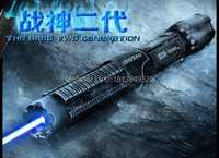 Potente 450nm 5000000 M 5in1 potencia fuerte militar azul puntero láser encendido partido vela encendido cigarrillo malvado lazer antorcha Watt