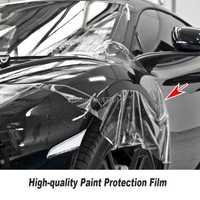 Auto-guérison TPH matériel PPF vinyle pour Film de Protection de peinture de voiture meilleur Transparent PPF taille: 1.52*15 M/rouleau série de haute qualité
