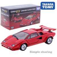 Tomica Premium RS Lamborghini Countach LP 500 S escala 1:43 en stock coche deportivo Takara TOMY vehículo fundición modelo de metal nuevos juguetes