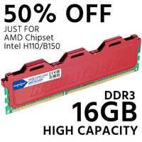 DDR3 16 GB 1600 MHz PC RAM de escritorio memoria compatible con 4 GB 8 GB 1333 MHz 1066 MHz
