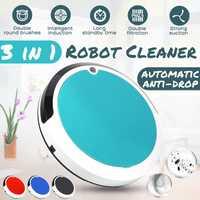 4 en 1 suciedad polvo pelo automática limpiador recargable de limpieza automática Robot inteligente Robot barriendo para casa de vacío eléctrica limpiadores