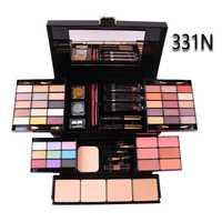 Maquillaje Caja Profesional 39 Color a conjuntos De sombra De ojos De brillo De labios en polvo Fundación Kit De maquillaje De Maquiagem cosméticos