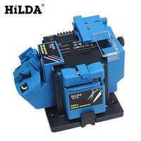 HILDA multifunción afilador eléctrico taladro afilado Cuchillo de la máquina y tijera afilador molienda hogar herramientas eléctricas