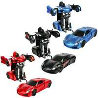 2In1 RC deportes coche transformación Robots modelos de Control remoto coche deformación RC luchando juguete Gesture Sensing desarrollar juguete