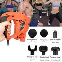 Masaje muscular lectrico para pistola masajeador de alta frecuencia vibratorio alivio muscular entrenamiento de dolor ejercicio relajación corporal adelgazamiento